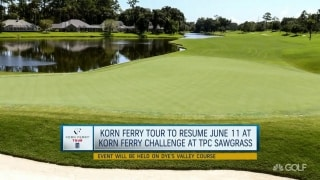 Challenges Korn Ferry Tour players face returning to play