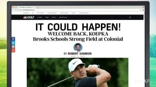 'It Could Happen' headlines: Koepka schools field at Colonial