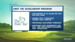First Tee graduates surprised with scholarships
