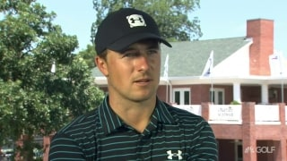 Spieth puts '20-minute hiccup' behind him, shoots second 65