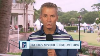 PGA Tour to ramp up COVID-19 testing at Travelers Championship