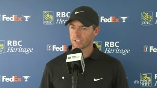 Rory: 'Didn't get it in play enough' in opening-round 72