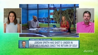 Something or Nothing: Another good score by Spieth