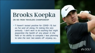 Koepka brothers, Simpson comment on Travelers WDs