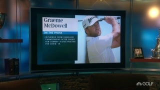 McDowell explains WD after caddie tests positive
