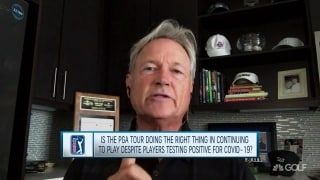 Cook: PGA Tour has set a perfect example on how to handle pandemic