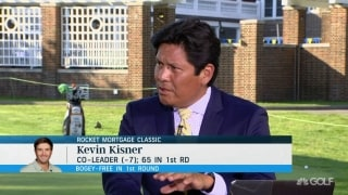 Begay III: Kisner will 'fight for every stroke'