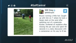 Gray: Player like DeChambeau should expect camera on him