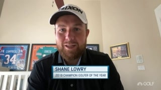 Lowry 'forever grateful' to have name on claret jug