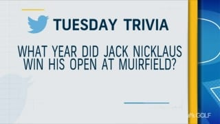 Tuesday Trivia: Muirfield Village edition