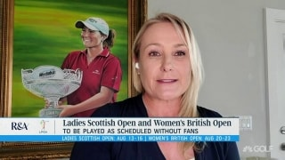 Ladies Scottish Open and Women's British Open to be played without fans