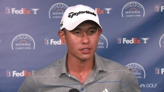 'Very consistent, very solid': Morikawa (65) on Day 1 lead at Workday