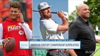 Handing out American Century Championship superlatives
