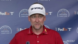 Poulter playing well in long-awaited return to Muirfield Village