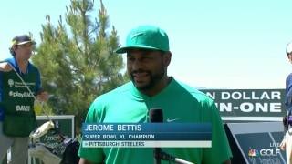 Bettis talks Tahoe, his golf game and the Steelers