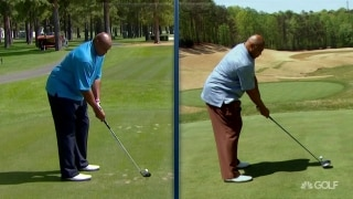 Now and then: Charles Barkley keeps swinging it