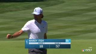 Mardy Fish caps off 63 with birdie on No. 18 at ACC
