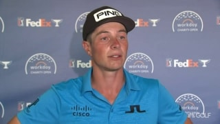 Hovland (66): Nice start mentally helped me keep 'plugging along'