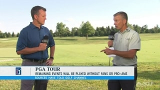 Hoggard on report: No fans, pro-ams for rest of PGA Tour season