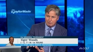 Chamblee: Tiger 'very sharp' in return with no fans