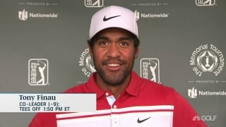 Finau: Fun to 'let a few fly' with driver at Memorial