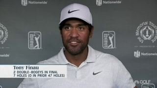Finau on 73: 'Ran into some speed bumps on back nine'