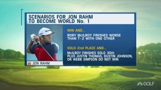 How Rahm is approaching mindset to overtake world No. 1