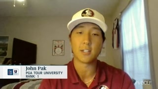 FSU's Pak humbled by PGA Tour University No. 1 ranking