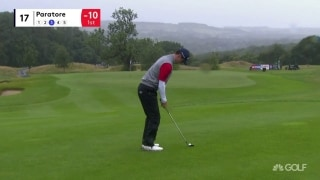 Highlights: Paratore (66) surges into lead at British Masters