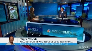 Tiger to miss next week's WGC-FedEx St. Jude Invitational