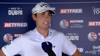 Paratore's key to bogey-free: 'I played really solid ... everything'