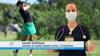 Hoffman exchanges scrubs for clubs to play on Symetra Tour