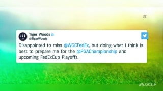 Smart for Tiger to skip the WGC-FedEx St. Jude?