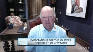 O'Meara on this year's Masters in November