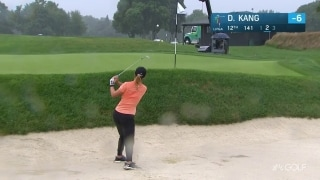 UL Innovative Shot of the Day: Kang authors up bunker hole out