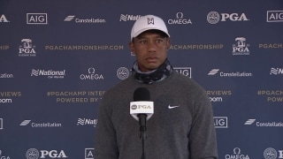 'That's an unknown': Tiger on no fans at a major