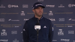 DJ: This PGA is like playing an Open Championship