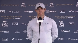 With no fans, Rory relying more on leaderboards for feedback
