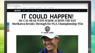 It Could Happen: Morikawa breaks through for first major title