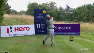 Beef drives par-4 11th at English Championship