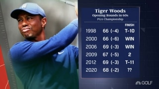 Leonard: Tiger's putting change 'not a big deal'