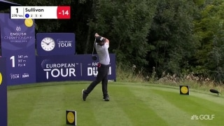 Highlights: Leader Sullivan (64) opens up big gap in England