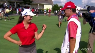 Zhang defeats Ruffels on 38th hole to win U.S. Women's Amateur