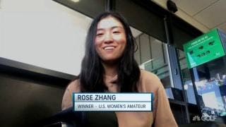 Zhang: From almost WDing to winning U.S. Women's Am