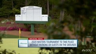 2020 Masters to be played without patrons or guests