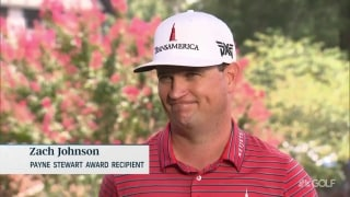 'Cried like you know what': ZJ's reaction to winning Payne Stewart Award