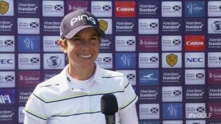 'Comfortable' Muñoz recaps (68) 'really solid day' at Scottish Open