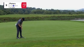 Pieters reads putt perfectly to make eagle on No. 9 at Celtic Classic