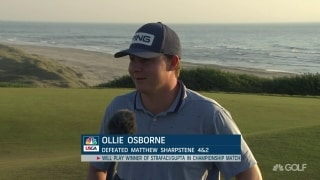 Brownie time: Osborne punches ticket to U.S. Amateur final