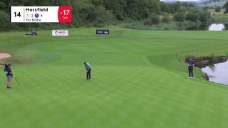 'Houdini' Horsfield rolls it just enough for birdie on 14